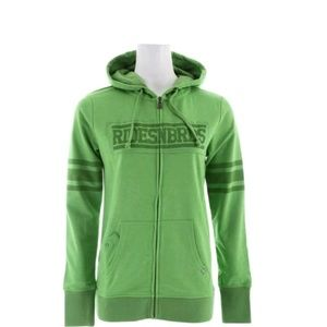Ride Womens Hooded zip up Sweatshirt